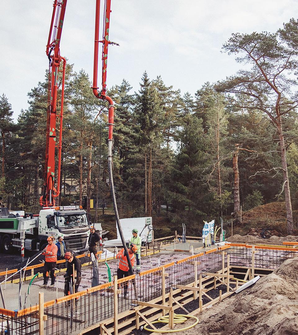 Betongprojekt - Clausen & Lovén